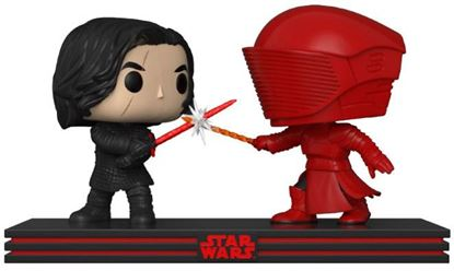 Imagen de Star Wars Pack de 2 POP! Movie Moments Vinyl Cabezón Kylo & Praetorian Guard 9 cm. DISPONIBLE APROX: SEPTIEMBRE 2018