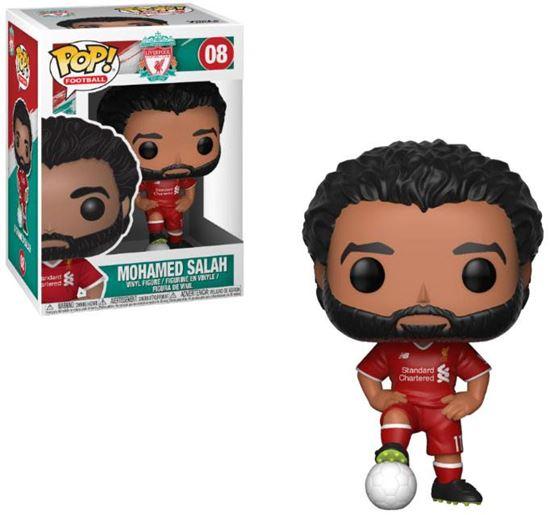 Foto de EPL POP! Football Vinyl Figura Mohamed Salah (Liverpool) 9 cm