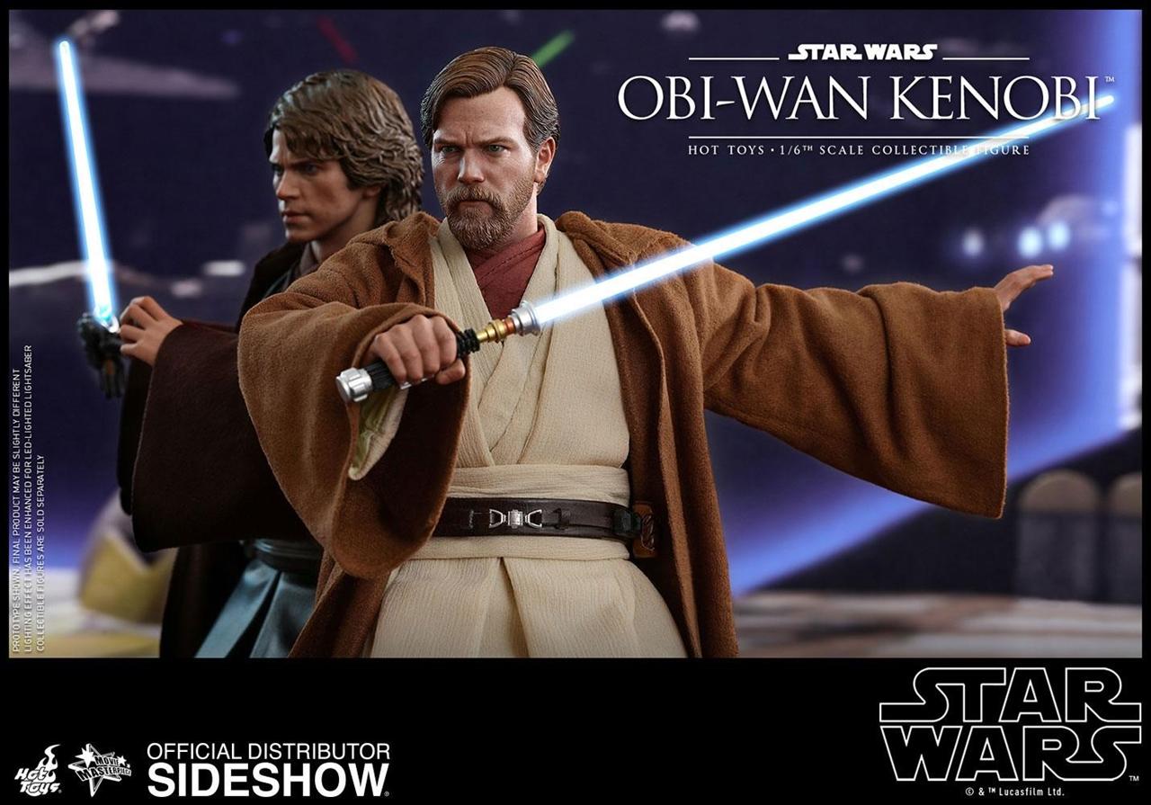 Imagen de Star Wars Episode III Figura Movie Masterpiece 1/6 Obi-Wan Kenobi 30 cm