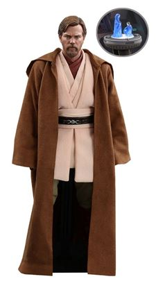 Imagen de Star Wars Episode III Figura Movie Masterpiece 1/6 Obi-Wan Kenobi Deluxe Version 30 cm