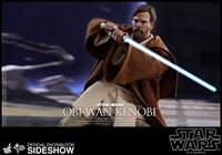Foto de Star Wars Episode III Figura Movie Masterpiece 1/6 Obi-Wan Kenobi Deluxe Version 30 cm