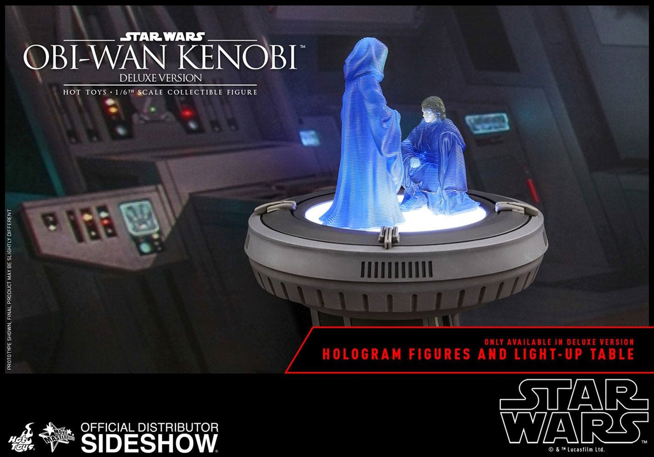 Imagen de Star Wars Episode III Figura Movie Masterpiece 1/6 Obi-Wan Kenobi Deluxe Version 30 cm