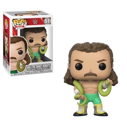 Imagen de FIGURA POP WWE: JAKE THE SNAKE