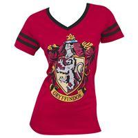 Imagen de Harry Potter Camiseta Chica Gryffindor Crest Talla M