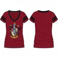 Foto de Harry Potter Camiseta Chica Gryffindor Crest Talla M