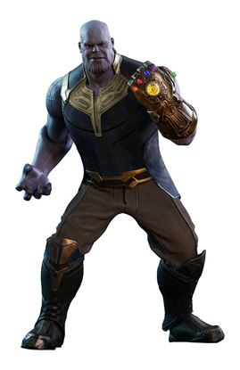 Imagen de Vengadores Infinity War Figura Movie Masterpiece 1/6 Thanos 41 cm