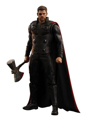 Imagen de Vengadores Infinity War Figura Movie Masterpiece 1/6 Thor 32 cm
