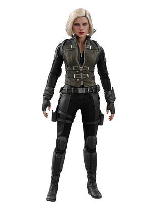 Imagen de Vengadores Infinity War Figura Movie Masterpiece 1/6 Black Widow 28 cm