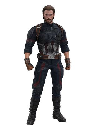 Imagen de Vengadores Infinity War Figura Movie Masterpiece 1/6 Captain America 31 cm