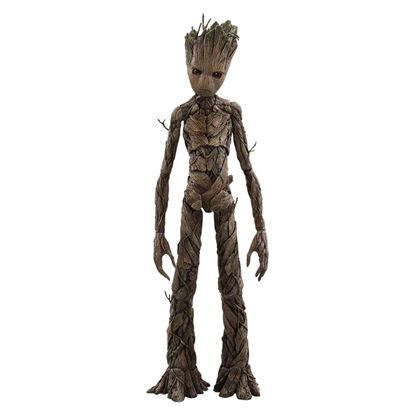 Imagen de Vengadores Infinity War Figura Movie Masterpiece 1/6 Groot 30 cm