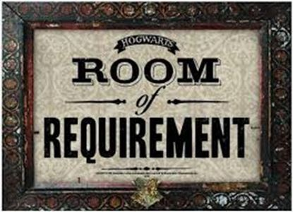 Imagen de Harry Potter Plancha de Pared Room of Requirement