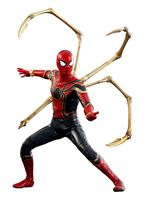 Imagen de Vengadores Infinity War Figura Movie Masterpiece 1/6 Iron Spider 28 cm