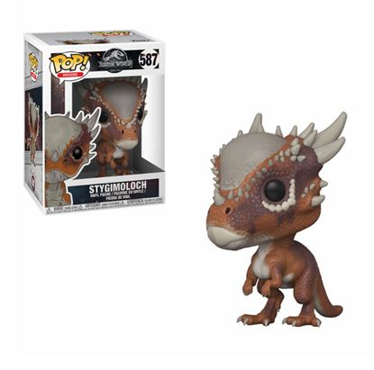 Imagen de Jurassic World 2 POP! Movies Vinyl Figura Stygimoloch 9 cm