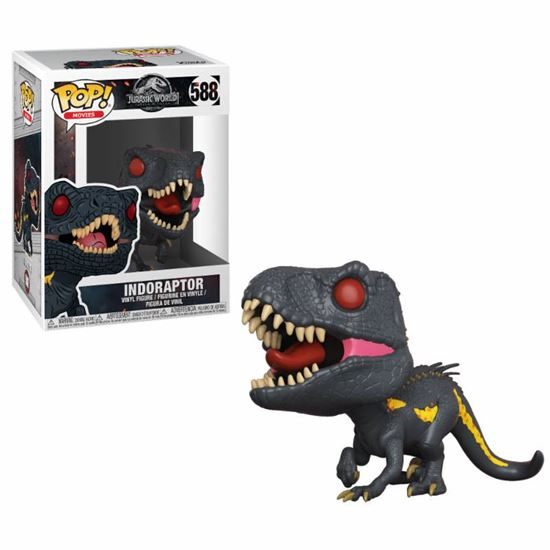 Foto de Jurassic World 2 POP! Movies Vinyl Figura Indoraptor 9 cm