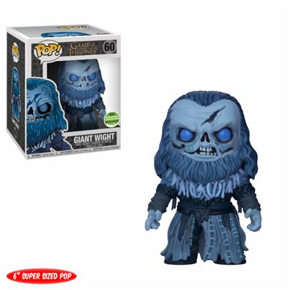 Imagen de FIGURA POP GAME OF THRONES: GIANT WIGHT ECCC 2018 DISPONIBLE APROX: JUNIO 2018