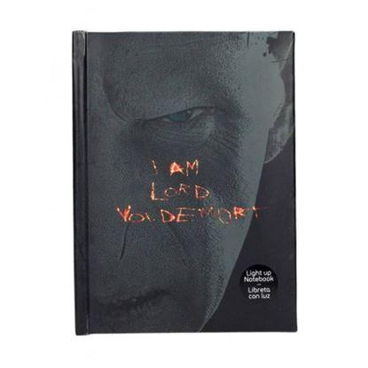Imagen de Cuaderno con Luz Voldemort - Harry Potter