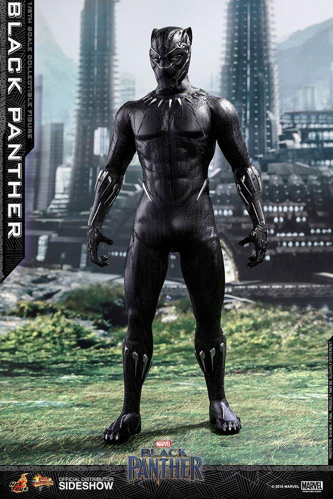 Imagen de Black Panther Figura Movie Masterpiece 1/6 Black Panther 31 cm