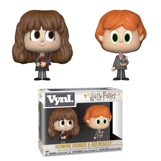 Foto de Harry Potter Pack de 2 VYNL Vinyl Figuras Ron & Hermione 10 cm