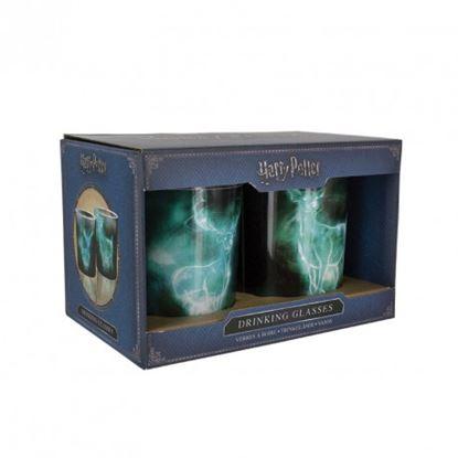 Imagen de Harry Potter Set 2 Vasos Patronus