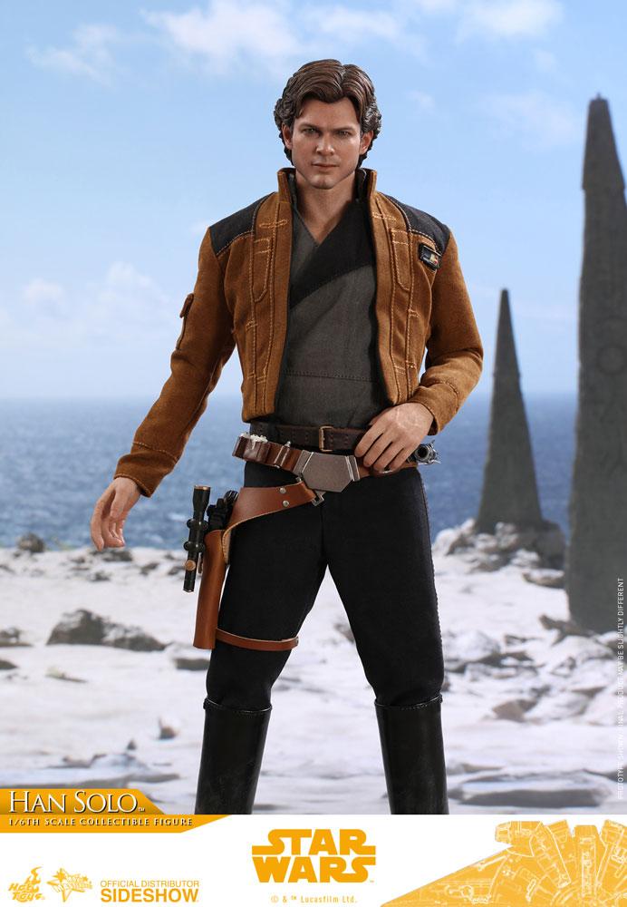 Imagen de Star Wars Solo Figura Movie Masterpiece 1/6 Han Solo 31 cm