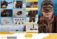 Foto de Star Wars Solo Figura Movie Masterpiece 1/6 Han Solo Deluxe Version 31 cm