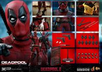 Foto de Deadpool 2 Figura Movie Masterpiece 1/6 Deadpool 31 cm
