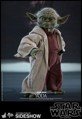 Imagen de Star Wars Episode II Figura Movie Masterpiece 1/6 Yoda 14 cm