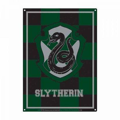 Imagen de Harry Potter Plancha Pequeña Slytherin Ajedrezado