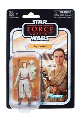 Imagen de Star Wars Black Series Vintage Figuras 10 cm 2018 Rey (Jakku)