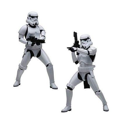 Imagen de Star Wars Pack de 2 Estatuas ARTFX+ Army Builder Stormtroopers 18 cm