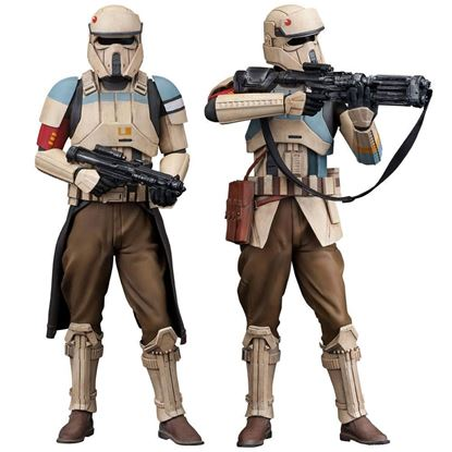 Imagen de Star Wars Rogue One Pack de 2 Estatuas ARTFX+ Scarif Stormtrooper 18 cm
