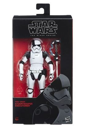 Imagen de Star Wars Episode VII Black Series Figura 2017 First Order Stormtrooper Executioner 15 cm