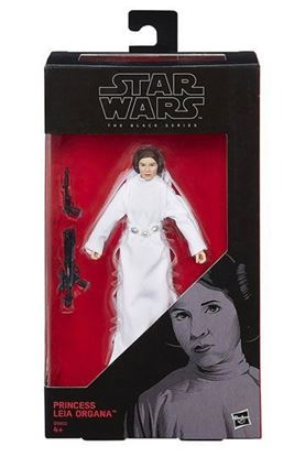 Imagen de Star Wars One Black Series Figura Princess Leia 15 cm