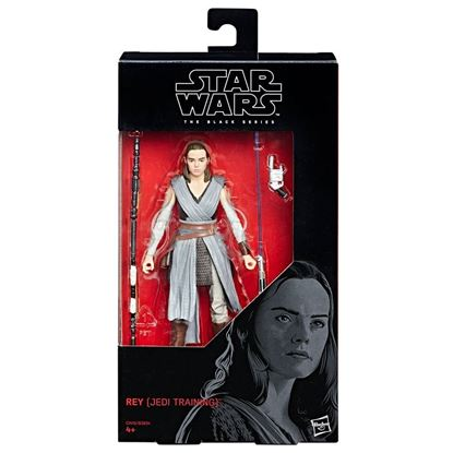 Imagen de Star Wars Episode VIII Black Series Figuras 15 cm Rey (Jedi Training)