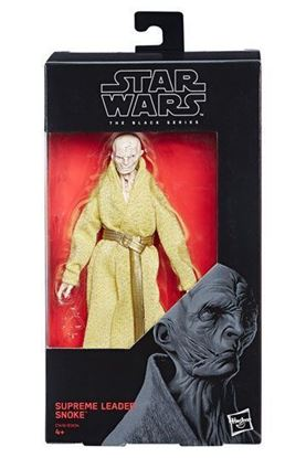 Imagen de Star Wars Episode VIII Black Series Figuras 15 cm Supreme Leader Snoke