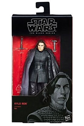 Imagen de Star Wars Episode VIII Black Series Figuras 15 cm Kylo Ren