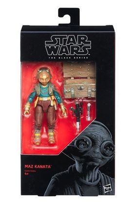 Imagen de Star Wars Episode VIII Black Series Figuras 15 cm Maz Kanata