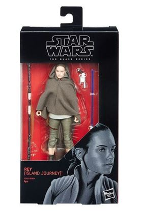 Imagen de Star Wars Black Series Figuras 15 cm 2018 Rey (Island Journey)