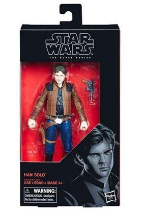 Imagen de Star Wars Solo Black Series Figura 2018 Han Solo