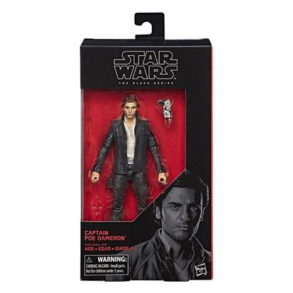 Imagen de Star Wars Episode VIII Black Series Figuras 15 cm Captain Poe Dameron