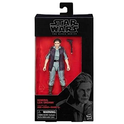 Imagen de Star Wars Episode VIII Black Series Figuras 15 cm General Leia Organa