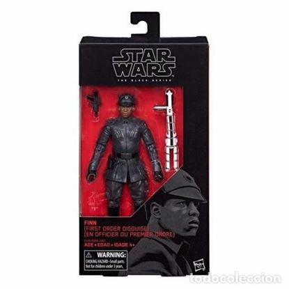 Imagen de Star Wars Episode VIII Black Series Figuras 15 cm Finn (First Order Disguise)