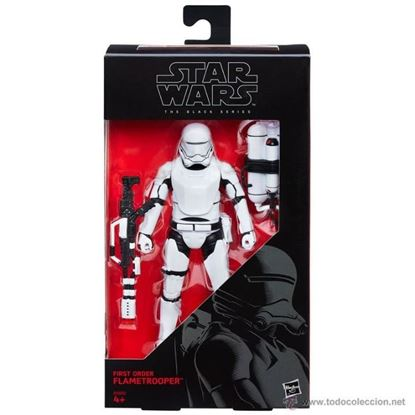 Imagen de Star Wars Episode VIII Black Series Figuras 15 cm First Order Flametrooper