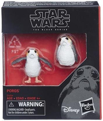 Imagen de Star Wars Black Series Pack de 2 Figuras Porgs