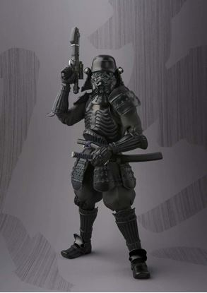 Imagen de Star Wars Onmitsu Ninja Shadowtrooper Figura 18 CM  Meisho Movie Realization