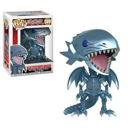 Imagen de Yu-Gi-Oh! Figura POP! Animation Vinyl Blue Eyes White Dragon 9 cm