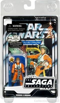 Imagen de Star Wars Saga Collection Figuras 10 cm Luke Skywalker X-Wing Pilot