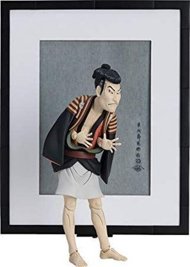 Foto de The Table Museum Figura Figma Otani Oniji III como Yakko Edobei de Sharaku 15 cm