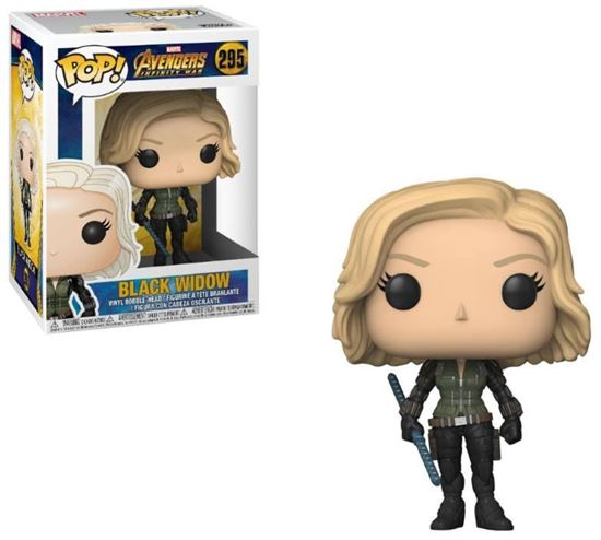 Foto de Avengers Infinity War Figura POP! Movies Vinyl Black Widow 9 cm