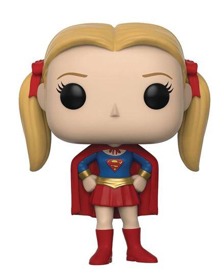 Foto de Friends Figura POP! TV Vinyl Phoebe as Supergirl 9 cm.
